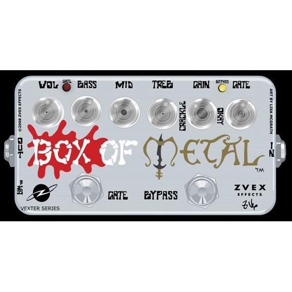 Z.VEX Box of Metal 新品 Vexter Series[ジーベックス,ゼットベックス][ボックスオブメタル][Distortion,ディストーション][ベクスターシリーズ][Effector,エフェクター]