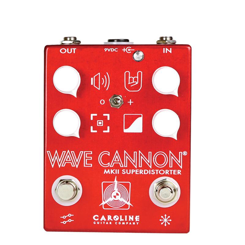 Caroline Guitar Company WAVE CANNON MK2 新品 ディストーション/ファズ[キャロラインギターカンパニー][ウェーブキャノン][Distortion,Fuzz][Effector,エフェクター]