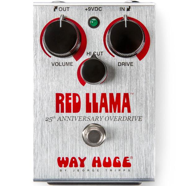 WAY HUGE RED LLAMA 25TH ANNIV. WHE206 新品[ウェイヒュージ][レッドラマ][オーバードライブ][Effector,エフェクター][WHE206]