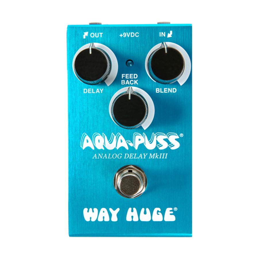 WAY HUGE WM71 MINI AQUA PUSS 新品[ウェイヒュージ][ミニ][アクアプッシュ][Analog Delay,アナログディレイ][Effector,エフェクター]