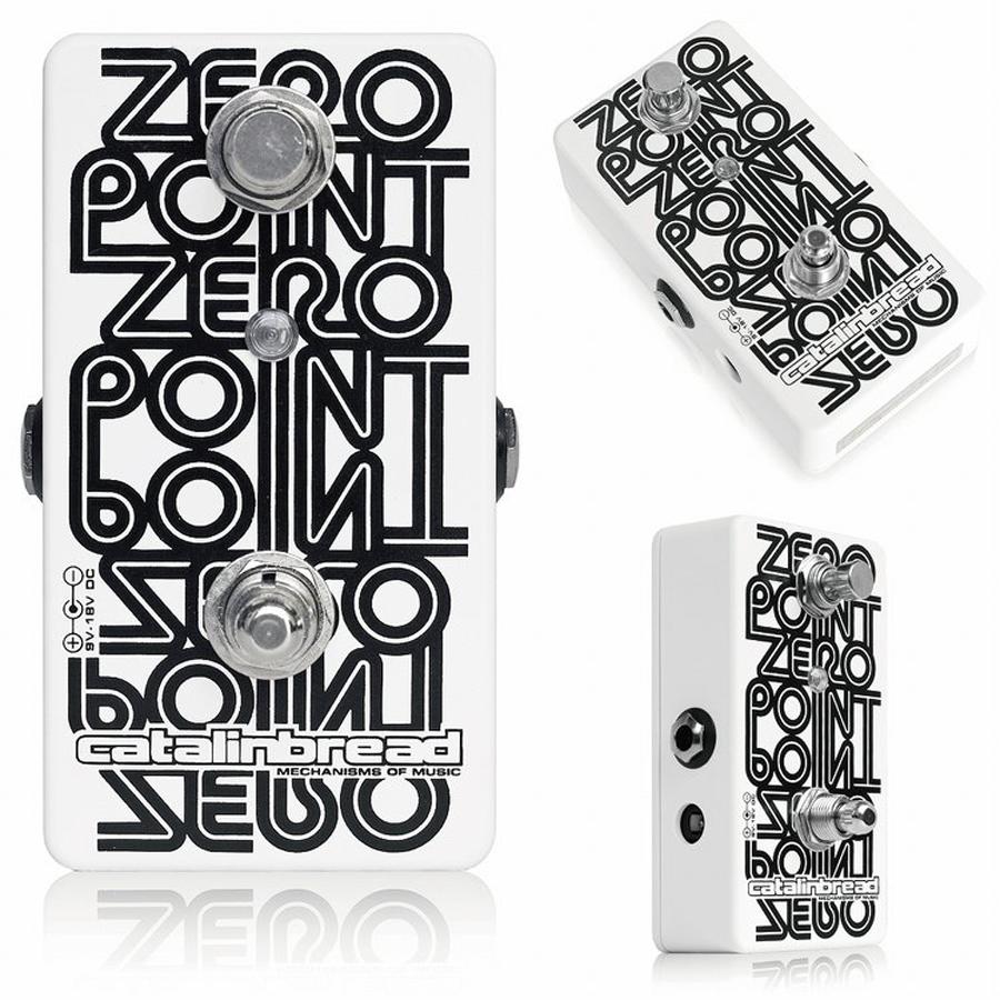 Catalinbread Zero Point 新品 フランジャー [カタリンブレッド][ゼロポイント][Flanger][Effector,エフェクター]