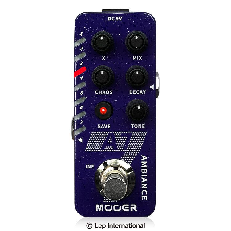 Mooer A7 新品 リバーブ[ムーアー][Reverb][Effector,エフェクター]