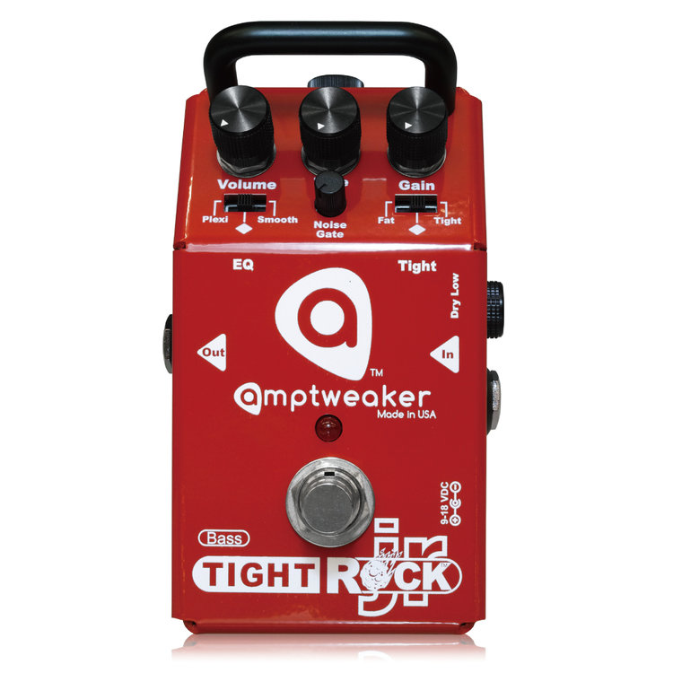 Amptweaker Bass TightRock JR 新品 ベース用オーバードライブ/ディストーション [アンプトゥイーカー][ベースタイトロックジュニア][OverDrive,Distortion][Effector,ベース用エフェクター]
