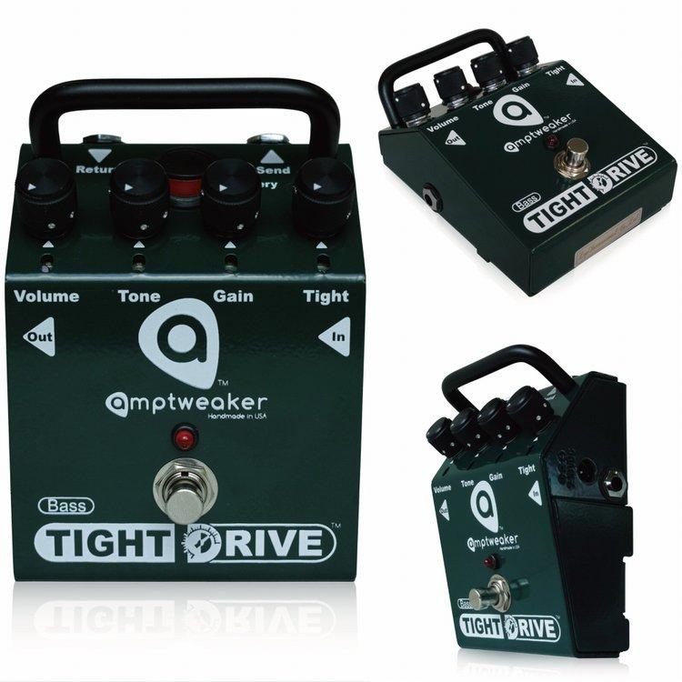 Amptweaker Bass TightDrive 新品 ベース用オーバードライブ [アンプトゥイーカー][ベースタイトドライブ][OverDrive][Effector,ベース用エフェクター]