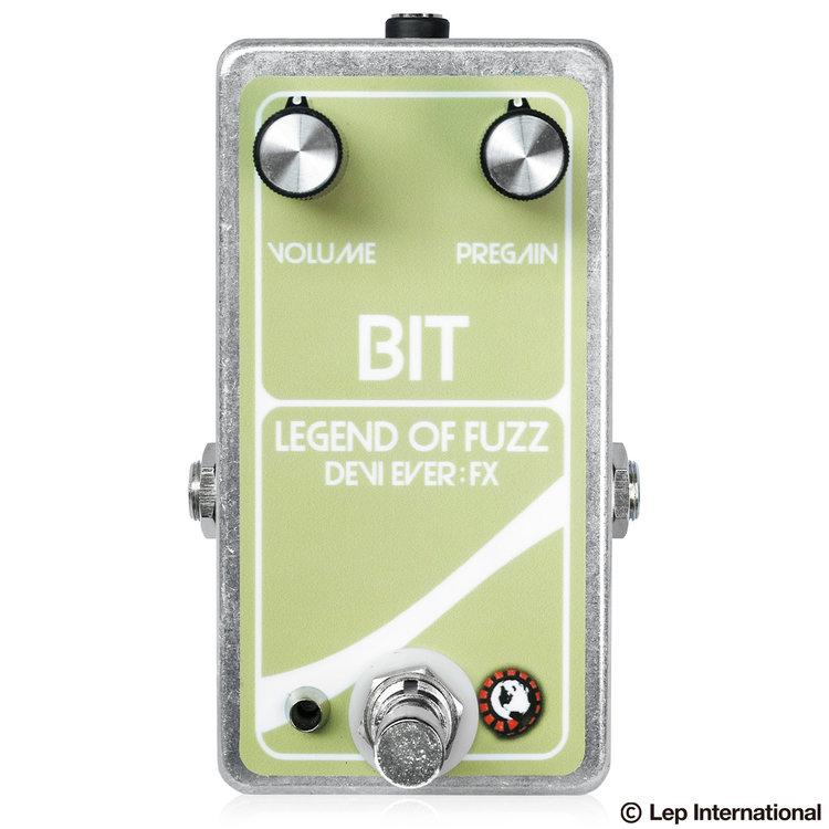 Devi Ever Bit : Legend of Fuzz 新品 ファズ[デビエバー][ビットレジェンドオブファズ][Fuzz][Effector,エフェクター]