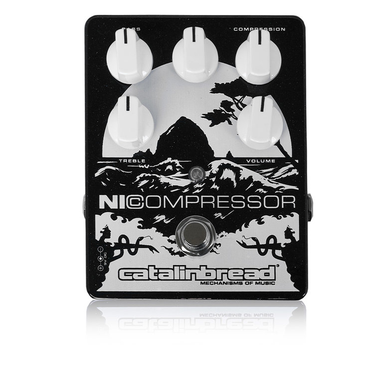 Catalinbread Ni Compressor Black Silver 新品 コンプレッサー [カタリンブレッド][コンプレッサー][黒][Effector,エフェクター]