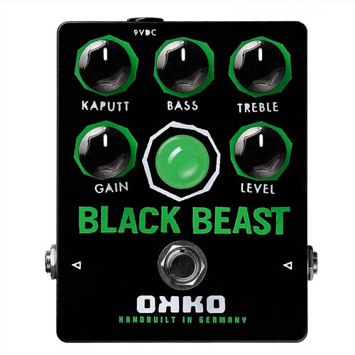 【超ポイントバック祭】 OKKO BLACK BLACK BEAST OKKO 新品ファズ[オッコ][ブラックビースト][Fuzz][Effector,エフェクター], 注目の:6d96fd53 --- portalitab2.dominiotemporario.com