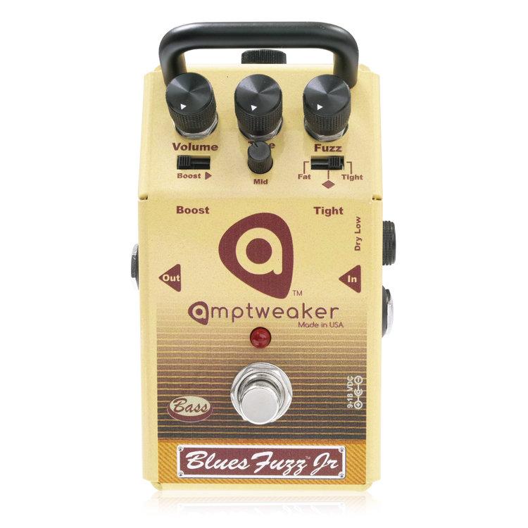 Amptweaker Bass Blues Fuzz JR 新品 ベース用ファズ [アンプトゥイーカー][ベースブルースファズジュニア][Fuzz][Effector,ベース用エフェクター]