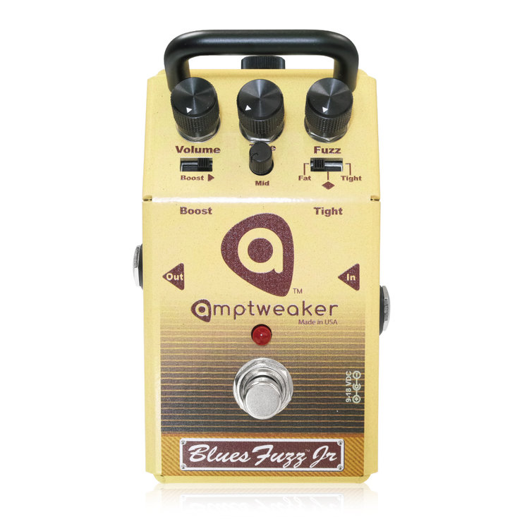 Amptweaker BluesFuzz JR 新品 ファズ [アンプトゥイーカー][ブルースファズジュニア][Fuzz][Effector,エフェクター]