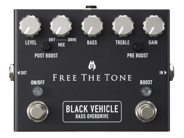 Free The Tone BLACK VEHICLE BV-1V 新品 ベース用オーバードライブ[フリーザトーン][エレキベース,Electric Bass][オーバードライブ,Overdrive][Effector,エフェクター]