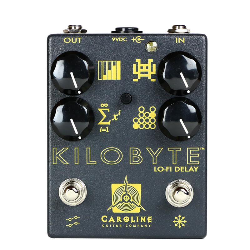 Caroline Guitar Company KILOBYTE 新品 ローファイディレイ[キャロラインギターカンパニー][キロバイト][Delay][Feedback][Effector,エフェクター]