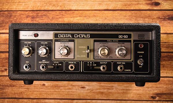 【中古】Roland DC-50 DIGITAL CHORUS 1980年代製【MIDE IN JAPAN】 [ローランド][デジタルコーラス,ディレイ][Effector,エフェクター]
