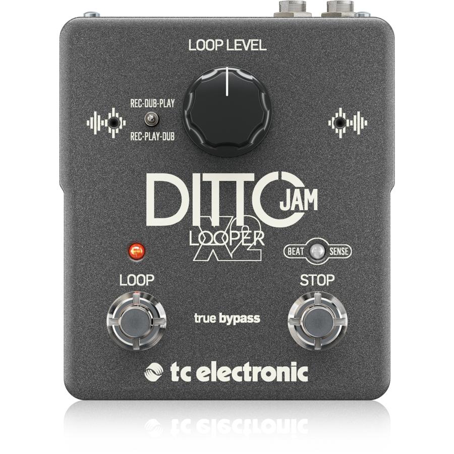 t.c.electronic DITTO JAM X2 新品 ルーパー[TCエレクトロニック][Effector,エフェクター]