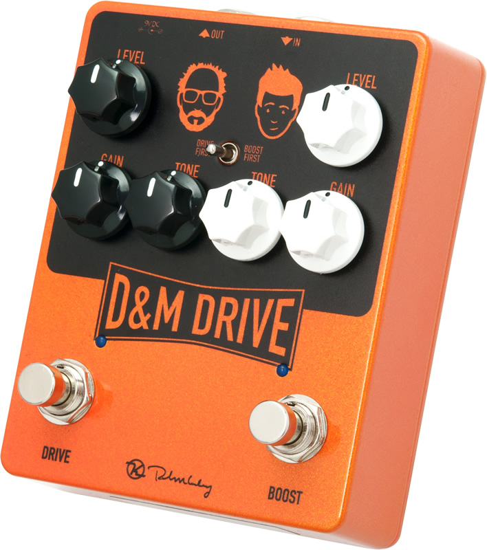 Keeley D&M Drive 新品 ディストーション/オーバードライブ [キーリー][Distortion,Overdrive][Effector,エフェクター]