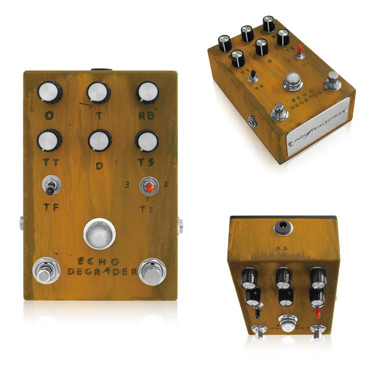 Industrialectric Echo Degrader 新品 エコー/ディレイ[インダストリアレクトリック][エコーディグレーダー][Echo,Delay][Effector,エフェクター]