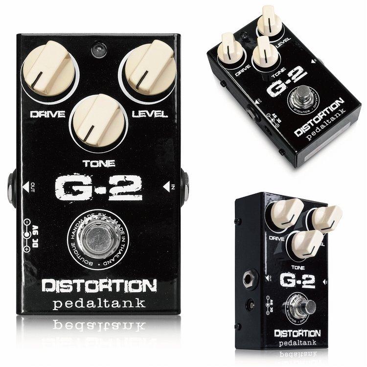 Pedal Tank G-2 Distortion 新品 [ペダルタンク][ディストーション][Effector,エフェクター]