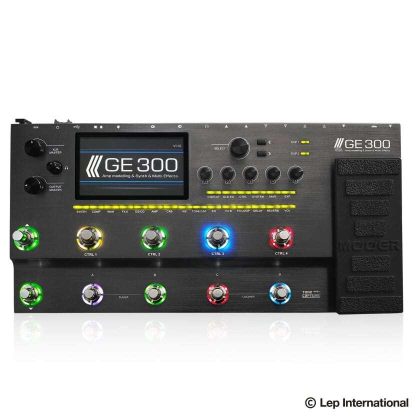 Mooer GE300 GE300 アンプ、エフェクト、キャビネットモデリング 新品[ムーア][マルチエフェクター][Effector,エフェクター][Ge-300], 赤ちゃんひろばエンゼル:eb04881a --- ww.thecollagist.com