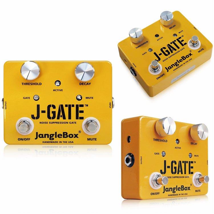 JangleBox J-Gate 新品ノイズゲート[ジャングルボックス][エフェクター,Effector][ノイズサプレッサー]