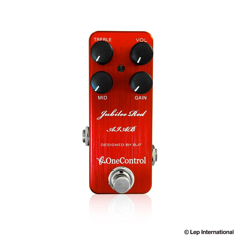 One Control Jubilee Red AIAB 新品 オーバードライブ/ディストーション[ワンコントロール][ジュビリーレッド][Overdrive/Distortion][Effector,エフェクター]