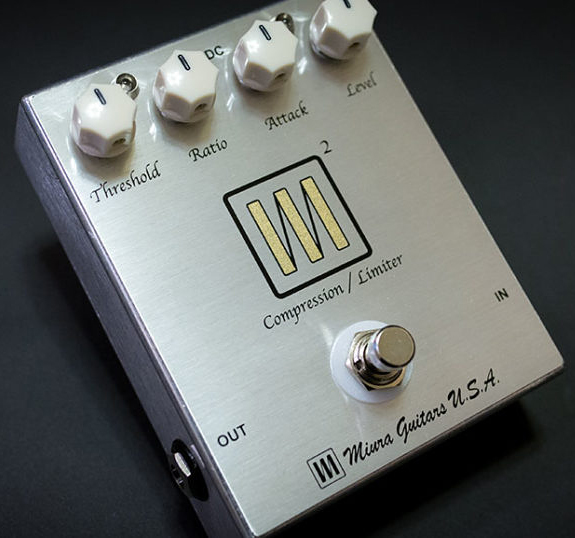 Miura Guitars U.S.A. M2 Compression / Limiter 新品 コンプレッサー/リミッター[ミウラギターズUSA][Effector,エフェクター]