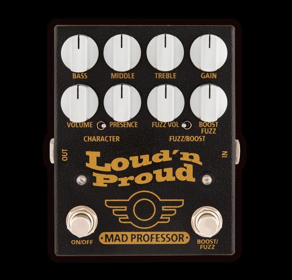 MAD PROFESSOR Loud'n Proud 税抜 新品 ファズ/プリアンプ[マッドプロフェッサー][Marshall系][Fuzz,Preamp,Overdrive][Effector,エフェクター]