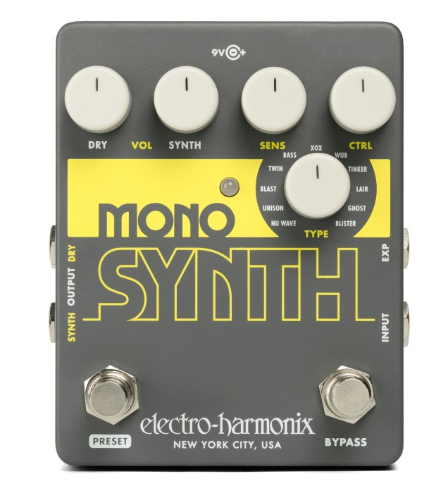 【福袋セール】 【正規品】electro-harmonix Mono 新品 Synth Synth 新品 ギターシンセサイザー[エレクトロハーモニクス][Guitar Synthesizer][Effector,エフェクター], タオルと布団のお店 【ふわりら】:b069bb22 --- totem-info.com