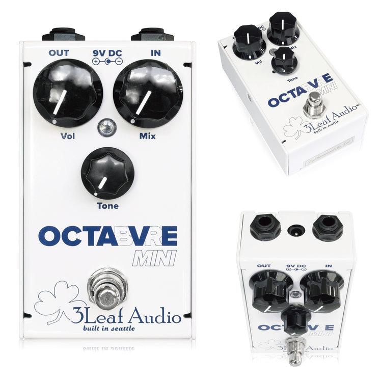 3Leaf Audio Octabvre Mini 新品 オクターバー[スリーリーフオーディオ][オクターバーミニ][Octave][Effector,エフェクター]