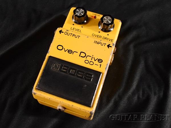 【中古】BOSS OD-1 1980年製 NEC C4558C オーバードライブ [ボス][Overdrive][OD1][Effector,エフェクター]