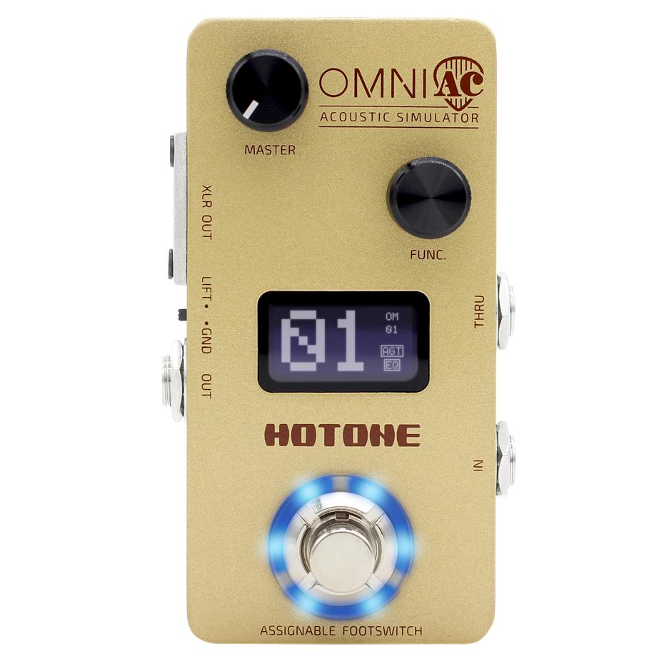 HOTONE OMNI AC 新品 アコースティックシミュレーター[ホットトーン][オムニ][Acoustic Simulator][Effector,エフェクター]