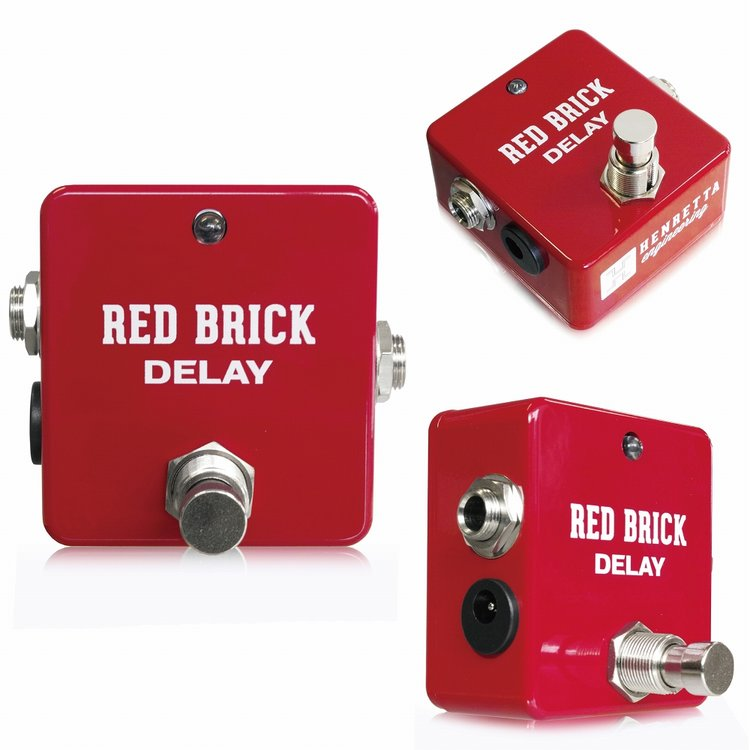 Henretta Engineering Red Brick Delay 新品 ディレイ[ヘンレッタエンジニアリング][レッドブリックディレイ][Effector,エフェクター]