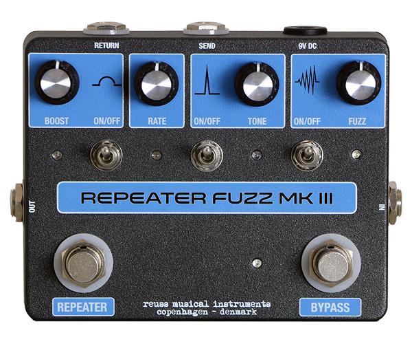 REUSS RF-03 Repeater Fuzz mk3 新品 ファズ[ロイス][VOX,Starstream][Fuzz][Effector,エフェクター]