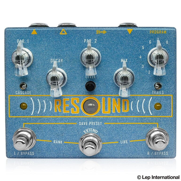 Cusack Music Resound 新品 リバーブ[キューザックミュージック][リサウンド][Reverb][Effector,エフェクター]