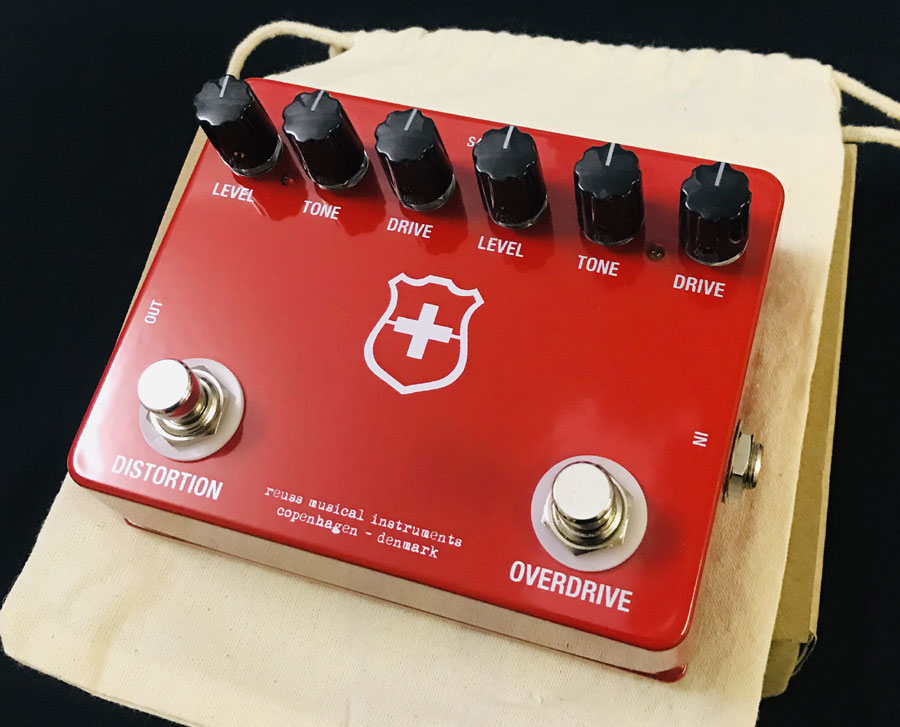 I unify circuits of REUSS SA-01 Swiss Army Knife << Klon Centaur and RAT!  >> new article OverDrive / distortion [Royce] [Centaurus, rat] [Swiss army