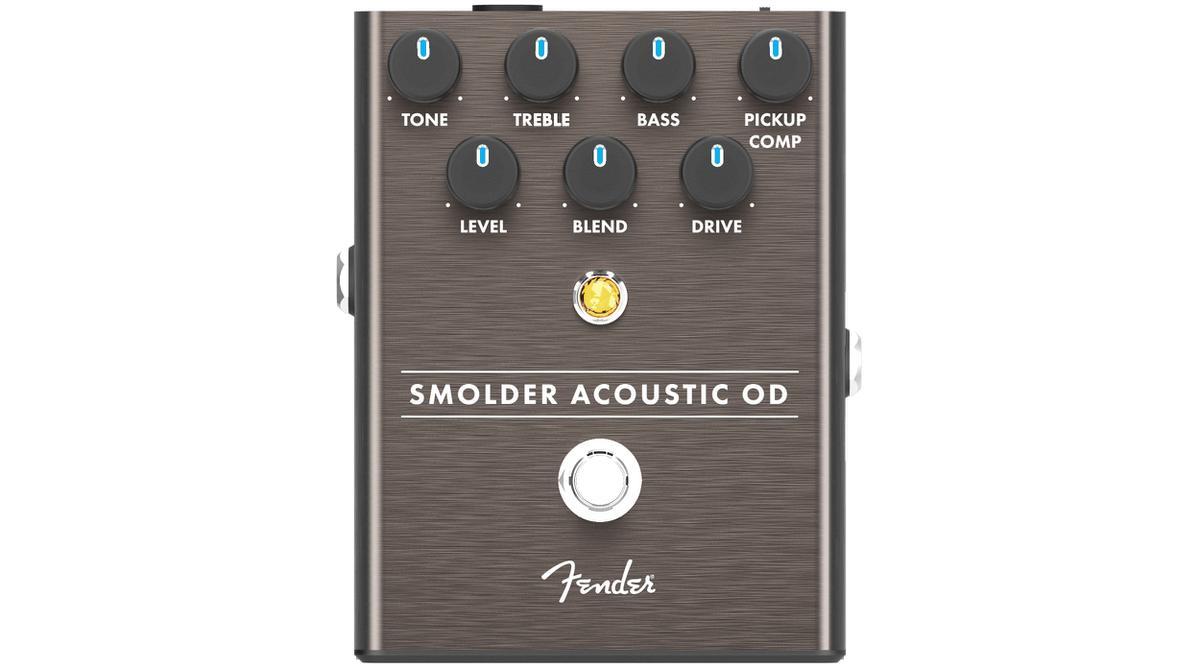 Fender Smolder Acoustic Overdrive 新品 アコースティック用オーバードライブ[フェンダー][Effector,エフェクター,ペダル]