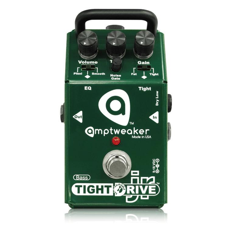 Amptweaker Bass TightDrive JR 新品 ベース用オーバードライブ [アンプトゥイーカー][ベースタイトドライブジュニア][OverDrive][Effector,ベース用エフェクター]