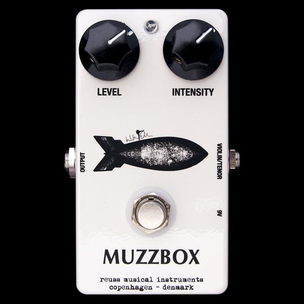 REUSS WE-02 Muzzbox 新品 ファズ[ロイス][Octavia][Fuzz][Effector,エフェクター]