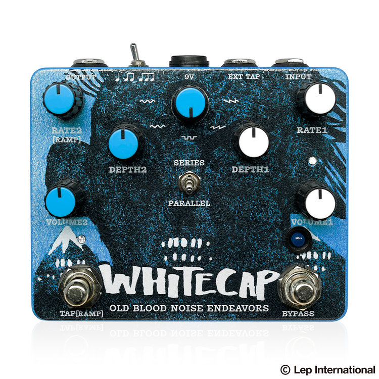 Old Blood Noise Endeavors WHITECAP 新品 トレモロ[オールドブラッドノイズエンフェヴァース][ホワイトキャップ][Reverb,Delay][Effector,エフェクター]