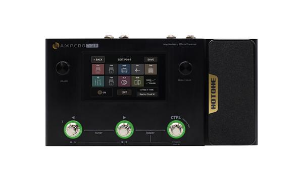 HOTONE AMPERO ONE 新品 Amp Modeler ●手数料無料!! Effects Processor アンプモデラート 返品不可 Multi ホットトーン アンペロ ワン マルチエフェクター Effector