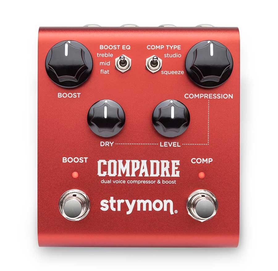 strymon 送料無料新品 COMPADRE 新品 コンプレッサー ブースター ストライモン コンパドレ Effector Compressor Booster 時間指定不可 エフェクター