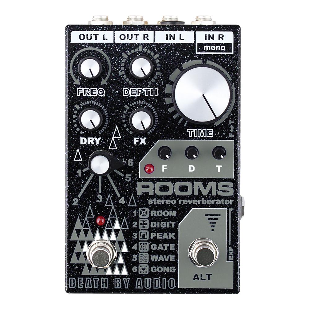 Death By Audio ROOMS Stereo Reverberator 新品 ステレオリバーブ [デスバイオーディオ][ルームズ][Effector,エフェクター]