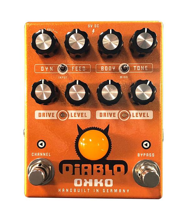 OKKO DiABLO DUAL 新品 オーバードライブ[オッコ][ディアブロデュアル][OverDrive][Effector,エフェクター]