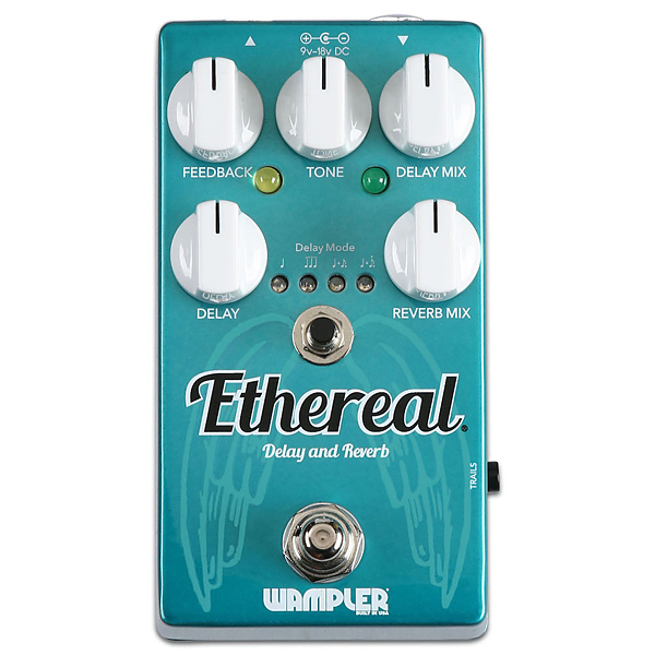 Wampler Pedals Ethereal - Reverb and Delay 新品 [ワンプラー][エーテル][Reverb,Delay,リバーブ,ディレイ][Effector,エフェクター]