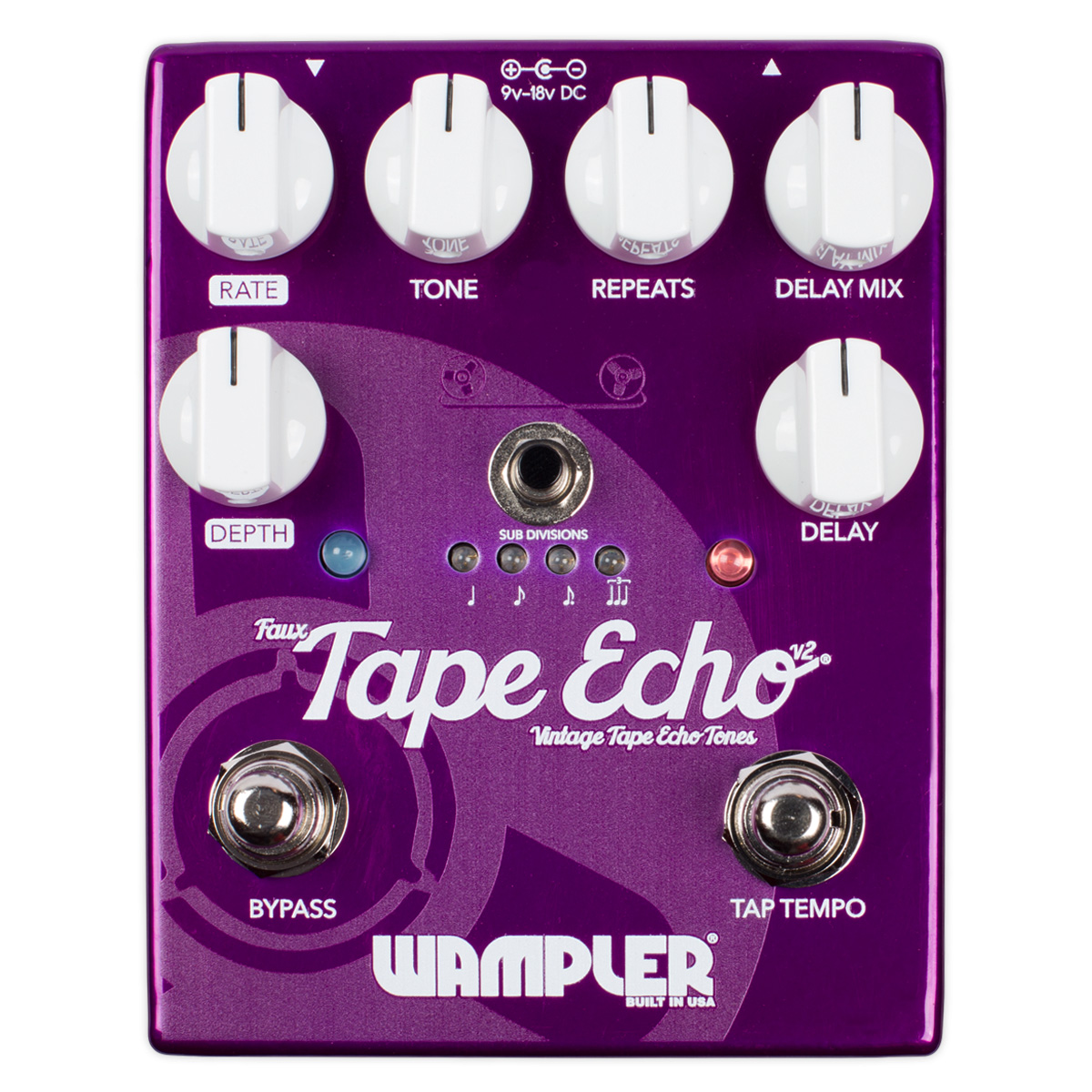 Wampler Pedals Faux Tape Echo v2 新品 [ワンプラー][テープエコー][Effector,エフェクター]