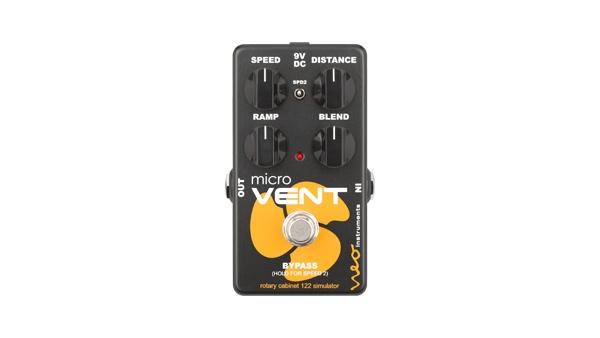Neo Instruments micro VENT 売れ筋 122 新品 ロータリースピーカーサウンド 別倉庫からの配送 コーラス Effector マイクロベント ネオインストゥルメンツ エフェクター Modulation