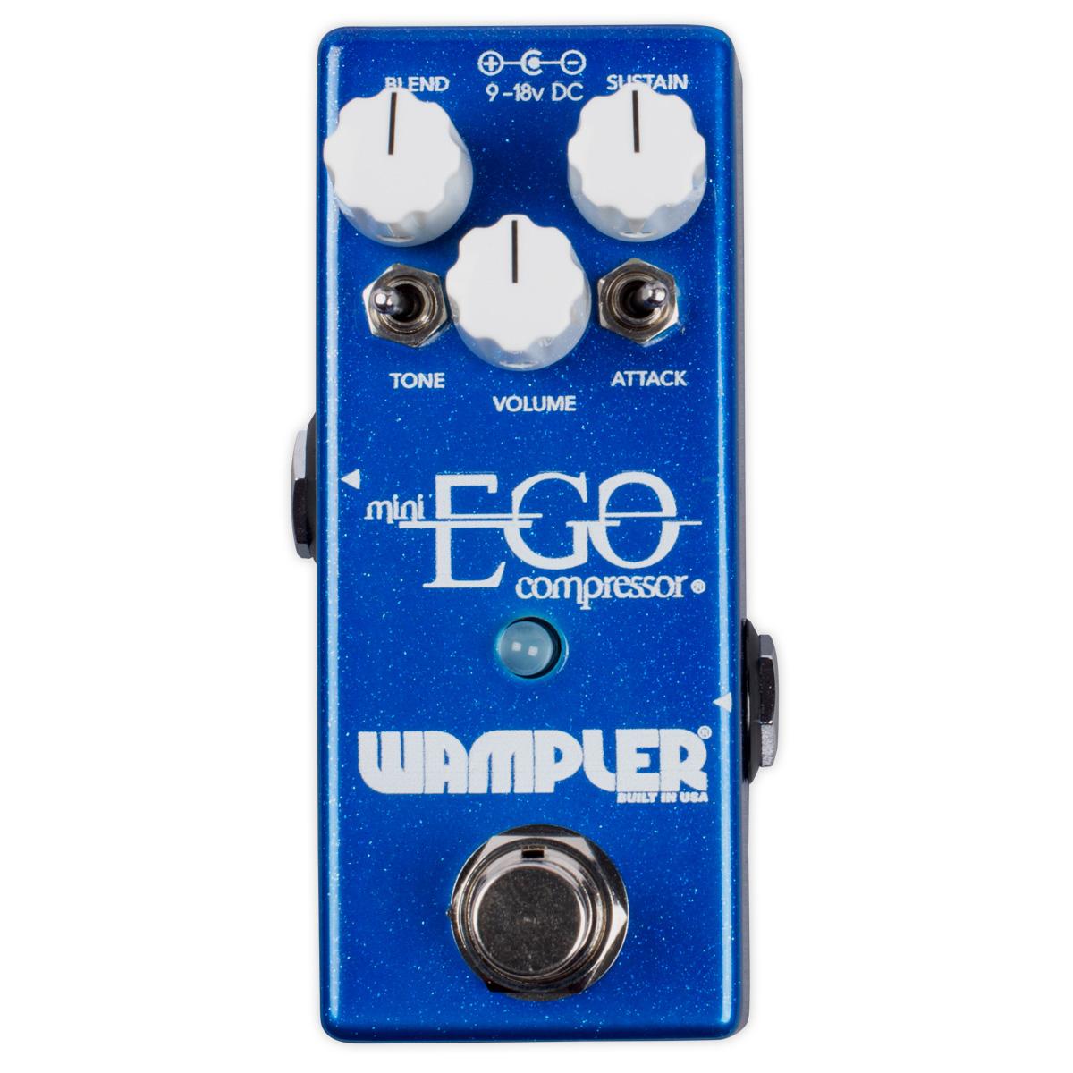 Wampler Pedals Mini Ego Compressor 新品 [ワンプラー][ミニエゴ][コンプレッサー][Effector,エフェクター]