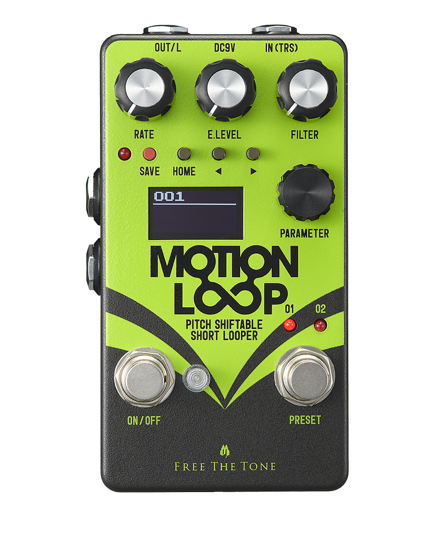 Free The Tone MOTION LOOP ML-1L フリーザトーン Looper エフェクター 格安SALEスタート オリジナル ショートルーパー Effector 新品