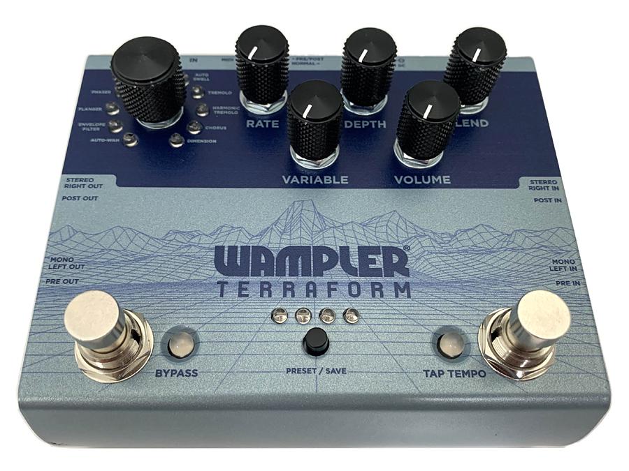 Wampler Pedals TERRAFORM 新品 モジュレーション[モジュレーション][テラフォーム][Modulation][Effector,エフェクター]