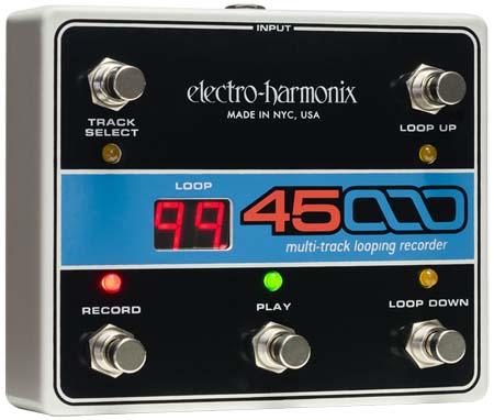 輝く高品質な 【正規品】electro-harmonix 45000専用フットコントローラー Track 新品[エレクトロハーモニクス][Multi Looper][Recorder] Track Looper][Recorder], 歌志内市:8d2b574b --- canoncity.azurewebsites.net