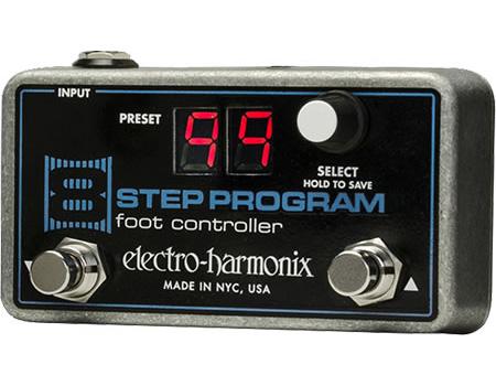 【正規品】electro-harmonix 8 Step Program専用フットコントローラー 新品[エレクトロハーモニクス][Foot Contoller][Effector,エフェクター]