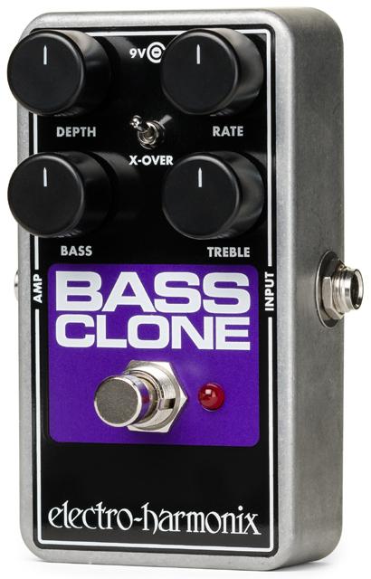【正規品】electro-harmonix Bass Clone Bass Chorus 新品 ベースコーラス[エレクトロハーモニクス][ベースクローン][Chorus][Effector,エフェクター]